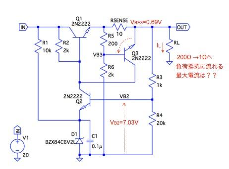 制限 回路 電流